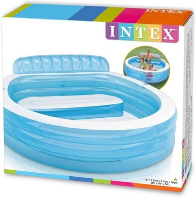 Intex Swim Luxury Lounge Inflatable Pool