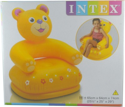 Intex Happy Animal Bear Inflatable Animal Chair