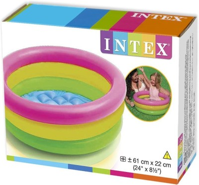 Shop & Shoppee Intex Inflatable Water Tub Pool For Kids(2-Feet)