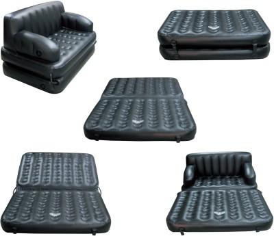 PUSHCART black pearl Inflatable Sofa cum Bed