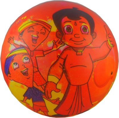 Shop4everything Chota Bheem the great F195 Inflatable Ball