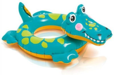 Intex Crocodile Baby Inflatable Float(Green)