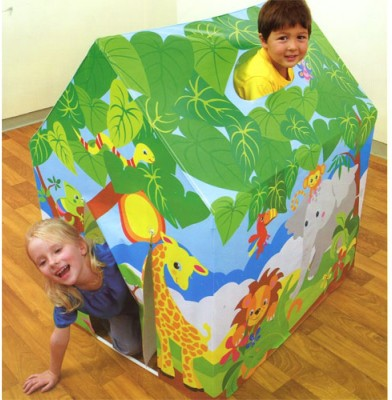 Intex Baby Tent House Inflatable Tent House(Multicolor)