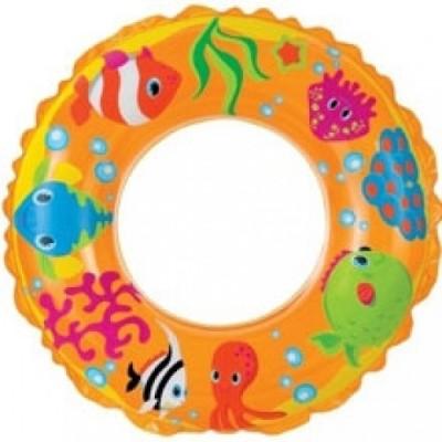 Intex Ocean Reef Transparent Inflatable Swim Ring