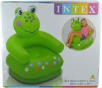 Intex Happy Animal Frog Sofa Inflatable Animal Chair(Green)