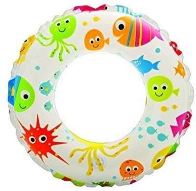 Aarushi Inflatable Swim Ring Inflatable Pool Accessory(Multicolor)