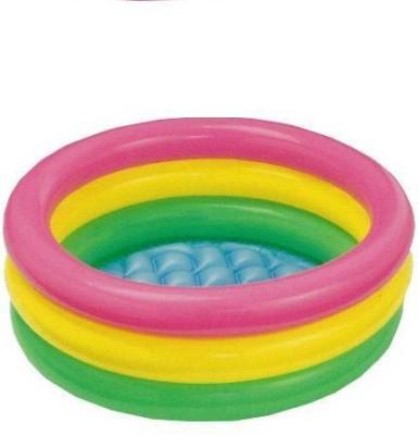Homeshopeez Intex-3 FT Diameter - Bath Tub Inflatable Water Pool