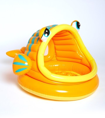 Gade Lazy Fish Shade Baby Inflatable Pool