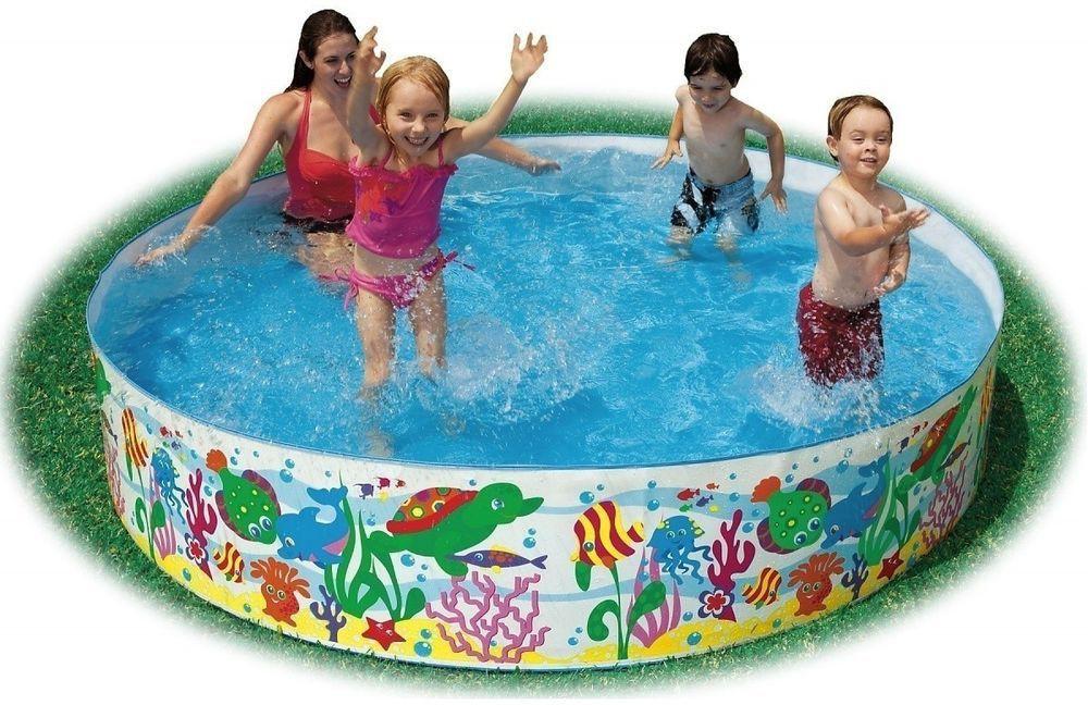Intex Snap-Set Coral Reef Pool Inflatable Pool