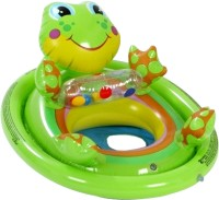 Intex Froggy See Me Sit Ring Inflatable Baby Float(Green)