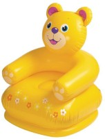 Born Baby Kids Inflatable Chair Inflatable Baby Chair(Yellow)