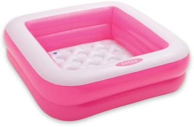 Intex Square Baby Pool Pink Inflatable Pool
