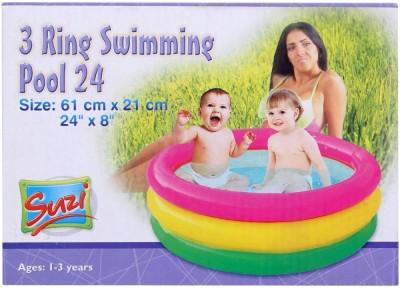 Suji 3 Ring Swimming Pool 24 Inch Inflatable Pool