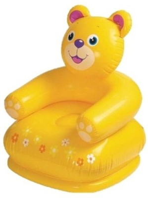 Intex Teddy Inflatable Chair(Yellow)