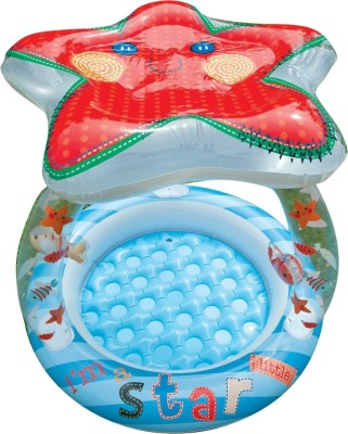 Intex Lil Star Shade Baby Inflatable Pool(Multicolor)