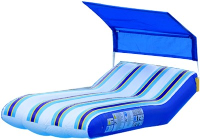 Jilong Lounge With Sunshade Inflatable Lounger(Blue)