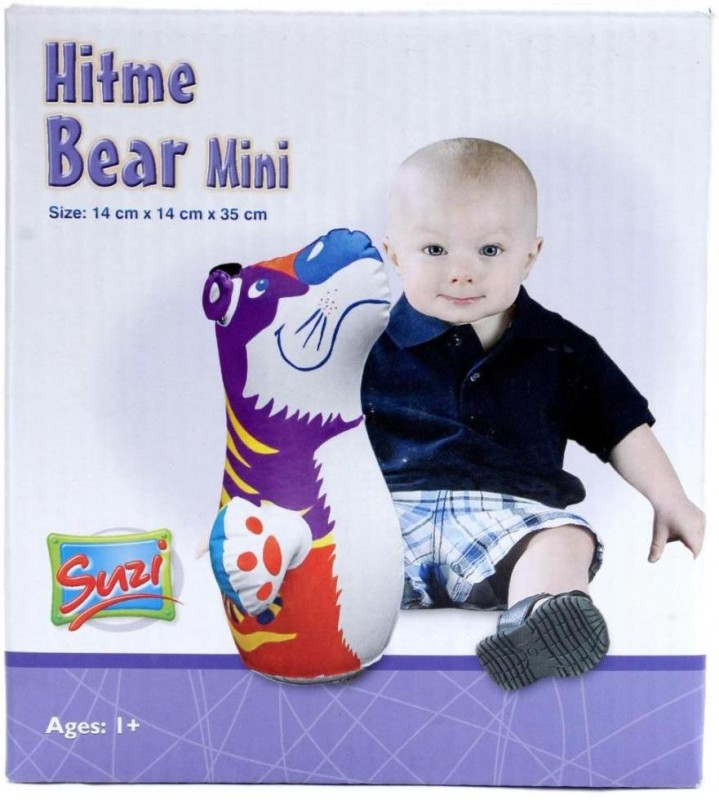 Suzi Hitme Bear Mini Inflatable Soft(Multicolor)