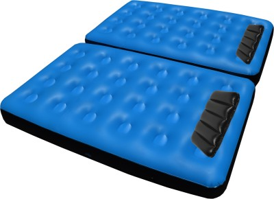 IBS Single Double Air Water Pool Mattress pump and 2 cushions Inflatable Bed