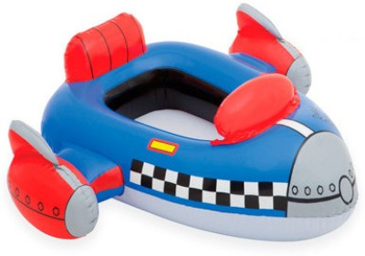 Intex Rocket Racer Cruiser Inflatable Pool Float(Blue)