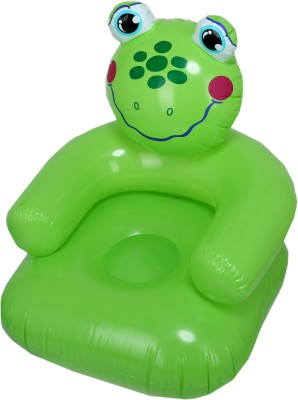 Yash Novelty Cute Froggy (Junior) For Kids Inflatable Chair(Green)