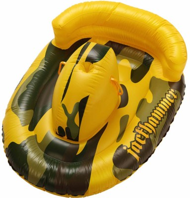 Jilong Jackhammer Water Inflatable Swim Rider(Yellow)