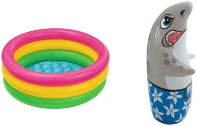 jainsoneretail intex 2 feet kids bath water tub 3 d. Black Bedroom Furniture Sets. Home Design Ideas