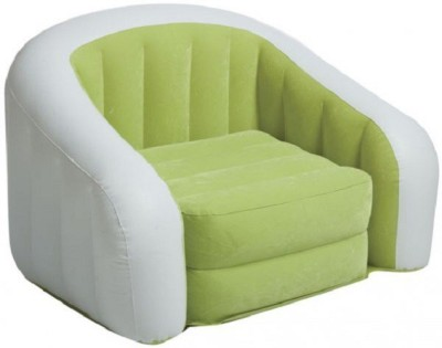 Intex Jilani Junior Cafe fro kids up to 7yrs Inflatable Sofa/ Chair(Green/white)