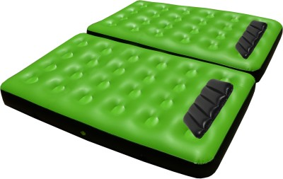 IBS Single Double Air Water Pool Mattress 2 black cusions and pump Inflatable Bed