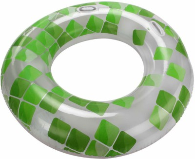 Jilong Fashion Mosaic Inflatable Swim Ring(Multicolor)
