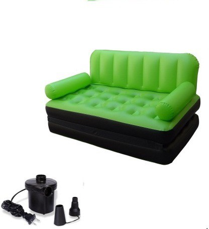 View Lovato PP 2 Seater Inflatable Sofa(Color - Green) Furniture (Lovato)