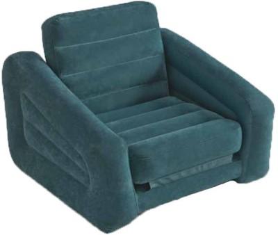 Intex 68565 Vinyl 1 Seater Inflatable Sofa(Color - Grey)