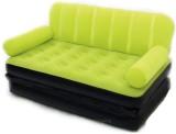 Best Way Classy Velvet 3 Seater Inflatab...