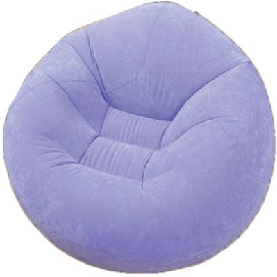 Intex 68569 Vinyl 1 Seater Inflatable Sofa(Color - Purple)
