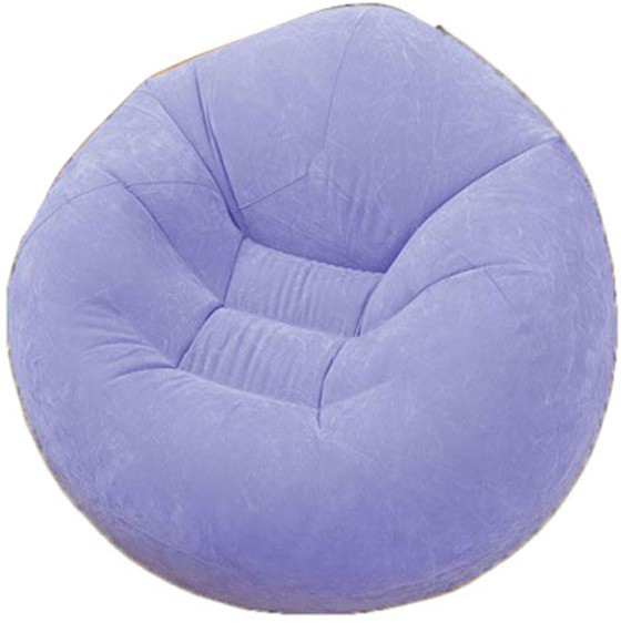 View Intex 68569 Vinyl 1 Seater Inflatable Sofa(Color - Purple) Price Online(Intex)