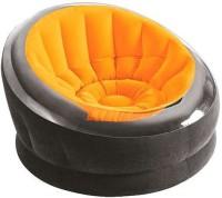Intex 68582 Vinyl 1 Seater Inflatable Sofa(Color - Orange)
