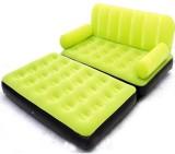 Airsofa 5 In 1 Air Bed Velvet Mattress L...