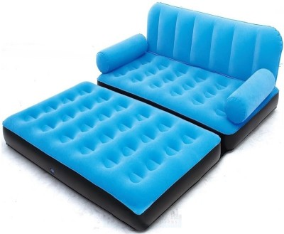 PUSHCART blue berry Inflatable 5 in 1 Sofa