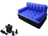 IBS PP 3 Seater Inflatable Sofa (Color -...