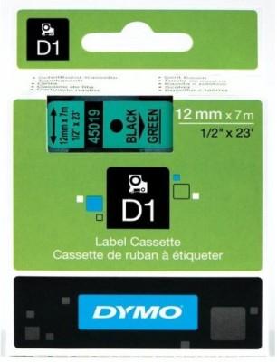 Dymo D1_12mm Green Toner