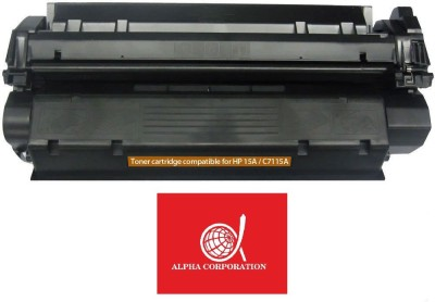 Alpha Corporation HP 15A Black / C7115A Black Toner