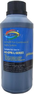 GoColor Premium L Series Inkjet Ink 500 ml for L Series Printers L100/200/110/210/300/355/550 Black Ink