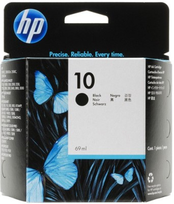 HP 10 Black Ink Cartridge(Black)