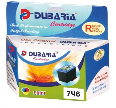 Dubaria Compatible for Canon 746 Cartridge Multicolor Ink