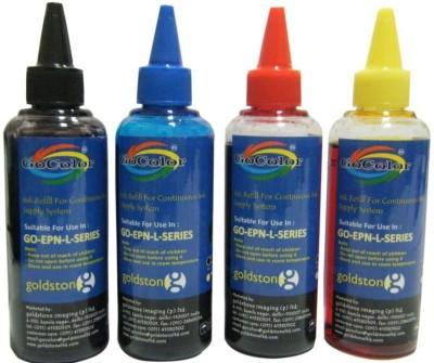 GoColor EPSON L Series Inkjet Ink Yellow Ink