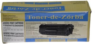 Toner-de-Zorba TDZHTC0505A Black Toner
