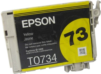 Epson Cartridge 73 (T0734) Original Yellow Ink