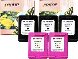 pritop HP Deskjet color & black Ink