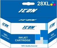 ICON 28XL Multi Color Ink(Blac