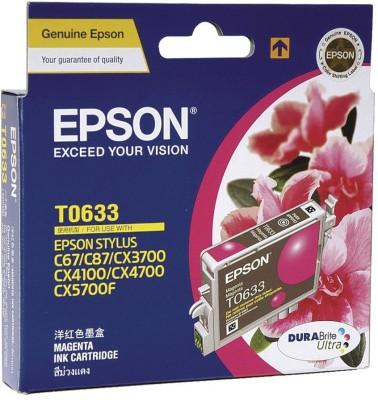 Epson Cartridge T0633 Original Magenta Ink