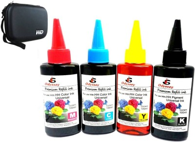 Odyssey Universal Ink For Use In Inkjet Printers Multicolor Ink